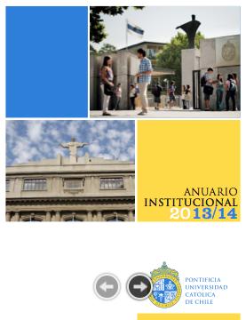 Anuario Institucional UC 2013-2014