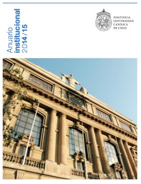 Anuario Institucional UC 2014-2015