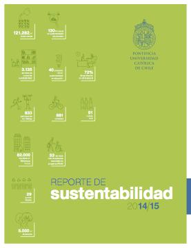 Reporte de Sustentabilidad UC 2014-2015
